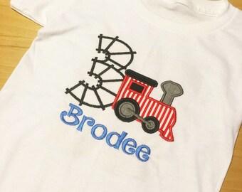 Train Birthday Shirt, Train Birthday, Boys Birthday Shirt, Train Birthday Onesie, Boy Birthday Onesie, Boy 1st Birthday, Train 3rd Birthday