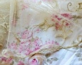 Antique Lovely Hand Made French Lace