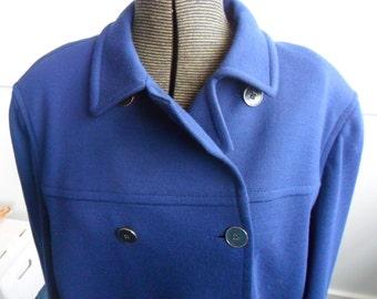 Jaeger Wool Coat - vintage 1970s
