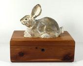 Vintage Lane Wood Box - Mini Cedar Chest, Lane Cedar Chests, Eveleth, Virginia