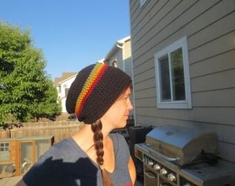 Rasta hat - Slouch Rasta hat - One love hat - Rasta