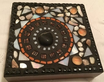"""Mosaic Art from emanations series 5""""x5"""""""