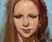 Averted - Original Oil Painting