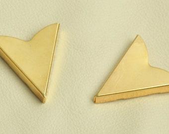 Collar Tip Western Collar Tip, 32mm x 36mm Collar tip, screw on back, 02614G