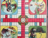 Vintage two sided game board