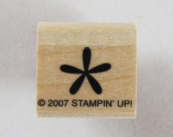 Stampin Up! - Solid Flower Rubber Stamp #RS147