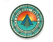 National Parks Sunrise Patch