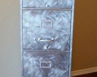 Reclaimed vintage Steelmaster filing cabinet