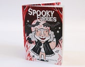 Spooky Furries - Art picture book and poems