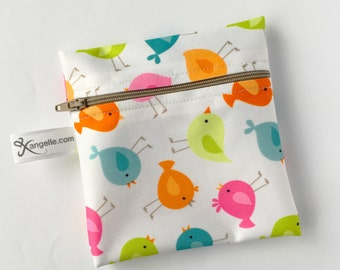 Small Sweet Birds Reusable Bag