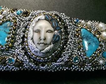 Victorian Snow Queen cuff