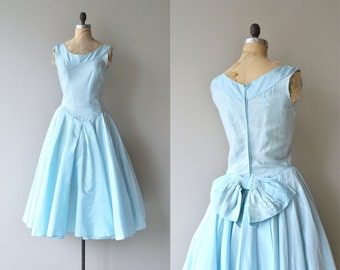 Above the Clouds dress |  vintage 1950s dress | 50s party dress