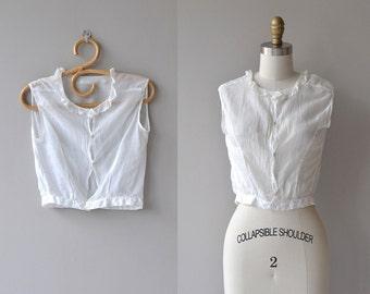 Anna Mae camisole | antique 1910s camisole | vintage Edwardian blouse