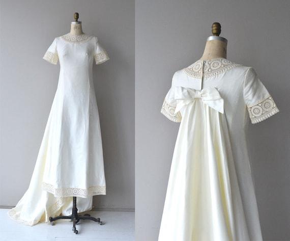 Branchardiere Wedding Gown Vintage 1960s Wedding Dress
