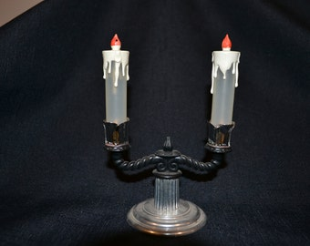 Vintage Candelabra Salt & Pepper Shakers