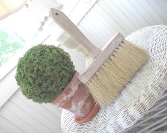 Vintage Paint Brush * Shabby * Prairie Chic * Rustic * Whisk Broom