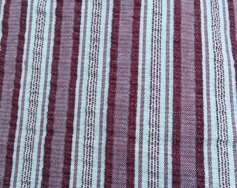 4 yards cotton vertical striped seersucker quilt dressmaking fabric