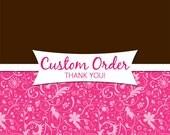 Custom Order for Pat