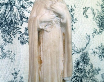Antique French St.Therese Statue