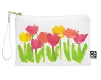 Bright Tulips Pouch