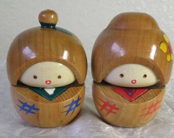 Kokeshi Couple
