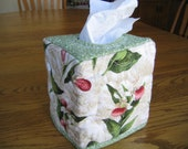 Quilted Tissue Cover in Lady Slippers