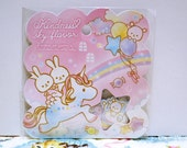 Q-LiA Sticker Flakes - Kindness Sky Flavor - 50 Pieces (01192)