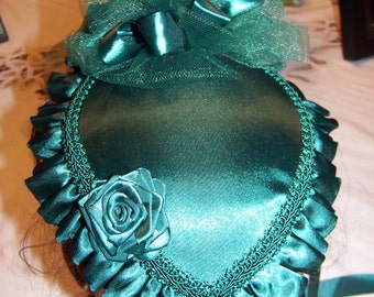 Ladies Black,Purple, Brown,Green, Red Navy Blue or White Satin Victorian Civil War Hat teardrop