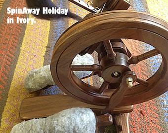 SpinAway Sheepskin Treadle cover