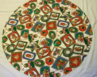 Christmas Tree Skirt Fabric, Christmas Fabric, Christmas Sewing Fabric