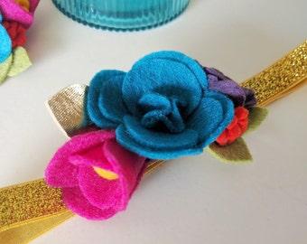 Floral Fiesta Headband || Petite Party Crown