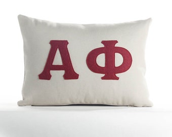 "Alpha Phi 10""X14"" Throw Pillow"