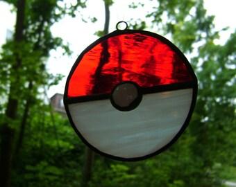 Pokemon Ball On Sale Stained Glass Suncatcher Nintendo Pikachu PokemonGo Pokemonsoon Pokemongo Pokemon Canada Pokemongym Tech Games