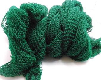 Dark Green Shawl