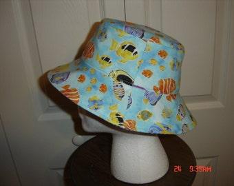 Reversible Sun Hat   Toddler-Adult