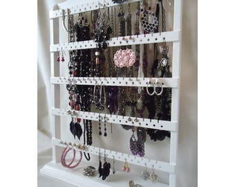 Table Top Earring Stand Jewelry Organizer Earring Holder