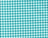 25% off Michael Miller Tiny Houndstooth Marine  - Fabric 1 yard off of bolt (more available)