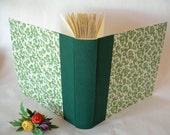 12x12 green photo album for Brittany