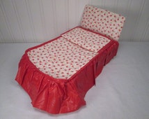Vintage WATKO Bed For Ginny and other Small Dolls -1950's