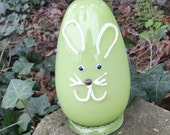 Large Glass Easter Egg Gr...