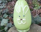 Large Glass Easter Egg Gr...