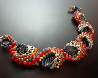 Coral Twist Bracelet Kit