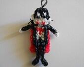 Rainbow Loom Dracula Vampire Doll Figure