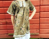 Girls 6-7 Vintage Dress