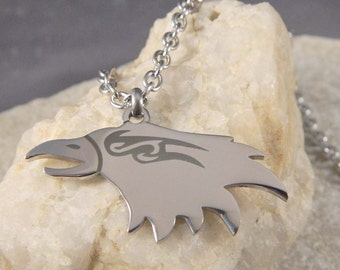 Eagle Stainless Steel Necklace