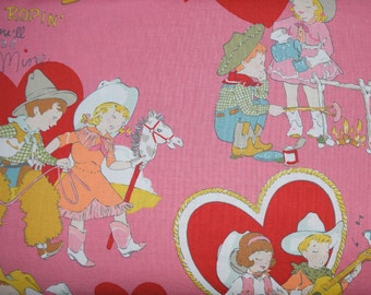 1/2 Yard of I'm Ropin You Will Be Mine Fabric from Alexander Henry Fabrics