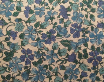 Vintage floral cotton 1 yard x 36 inches more available