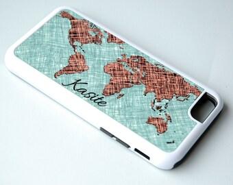 iPhone 7 Case, iPhone Case, Phone Cover, Personalized Map Phone Case, Samsung Galaxy Case, iPhone 6 Case