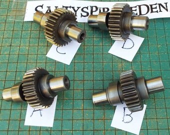 gear with cam, industrial paperweight, Harley Sportster engine part, great for found art, metal sculpture, biker man cave