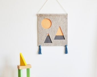Sunset Mountains - Children's Wall Hanging